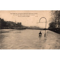 Paris inondation  la crue...