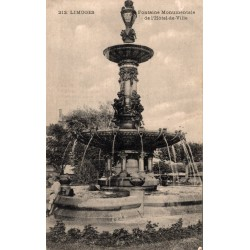 Limoges fontaine...