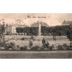 Dijon place du peuple