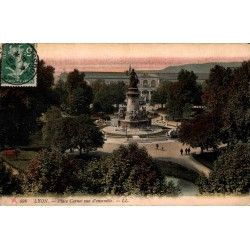 Lyon place carnot vue...