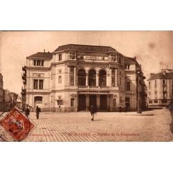 Nantes theatre de la...