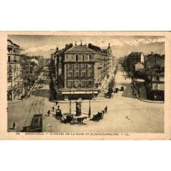 Grenoble avenues de la gare...