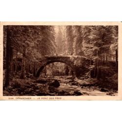 Gerardmer le pont des fées