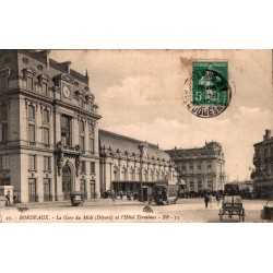 Bordeaux la gare du midi et...