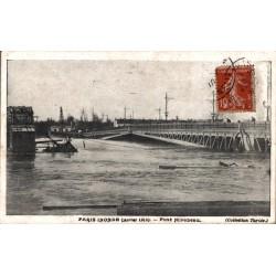 Paris inondé janvier 1910...