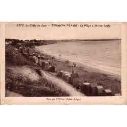 Tharon plage la plage a...