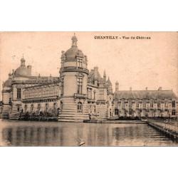 Chantilly vue du chateau