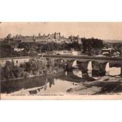 Carcassonne le pont neuf et...