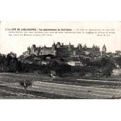 Carcassonne vue panoramique...