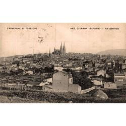 Clermont ferrand vue generale