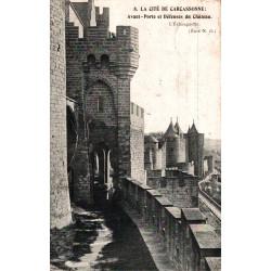 Carcassonne avant porte et...