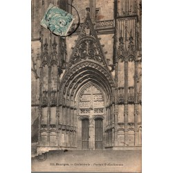Bourges cathedrale portail...