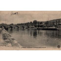 Cognac les quais et le pont...