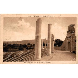 Vaison theatre les colonnes