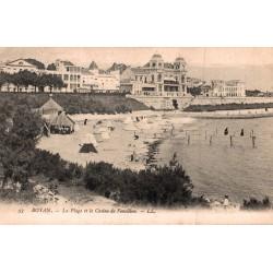 Royan la plage et le casino...