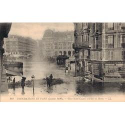Paris  lors des inondations...