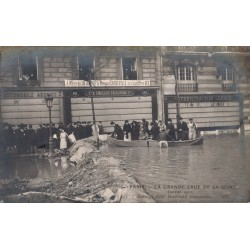 La grnde crue de la Seine...