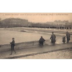 La grande crue de la Seine...