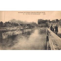 La crue de la Seine...