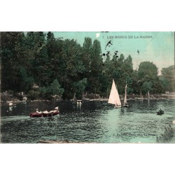 Les bords de la marne 1908