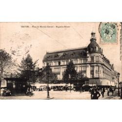 Troyes place du marché...