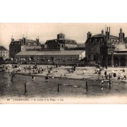 Cherbourg le casino et la...