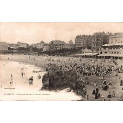 Biarritz grande plage et...