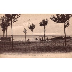 Cazeaux le lac 1918