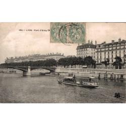 Lyon pont d'ainay 1905