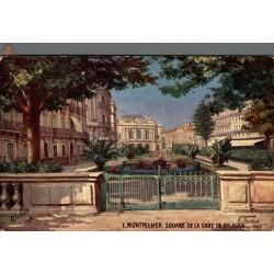 Montpellier square de la...