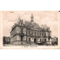 Niort l'hotel de ville 1930