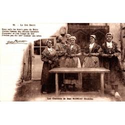 Groupe de femmes le gui sacré
