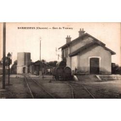 Barbezieux gare du tramway