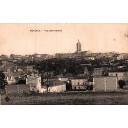 Cognac vue panoramique 1913