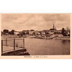 Bergerac le port et la ville