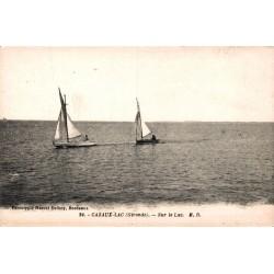 Cazaux bateaux sur le lac