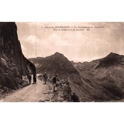 Route du Tourmalet les...