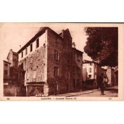 Cahors maison henri IV