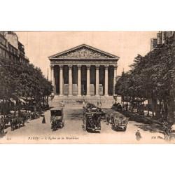 Paris l'église de la madeleine