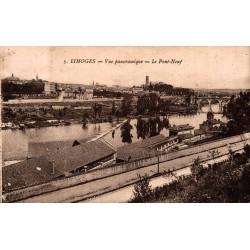 Limoges vue panoramique le...