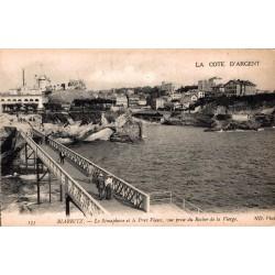 Biarritz le sémaphore et le...