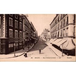 Bourg rue d'alsace lorraine...