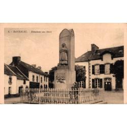 Bannalec monument aux morts