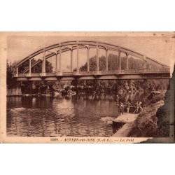 Auvers sur oise le pont