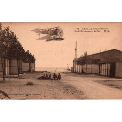 Cazaux lac ecole d'aviation...