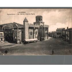 Royat place de l'église