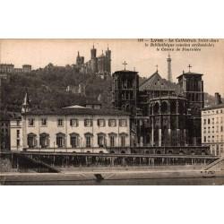 Lyon la cathedrale saint...