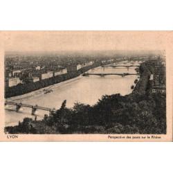 Lyon perspective des ponts...