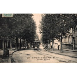 Clermont Ferrand boulevard...