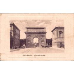 Montpellier l'arc de triomphe